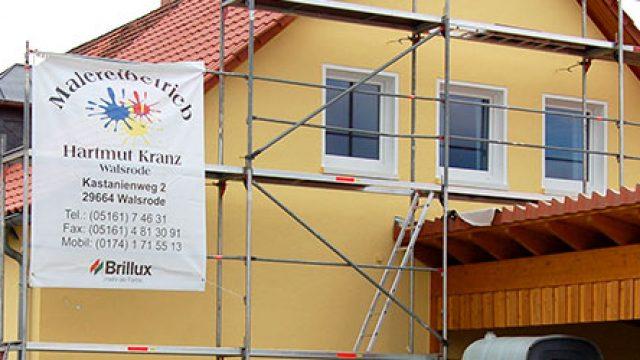 Moderne Fassadenarbeiten